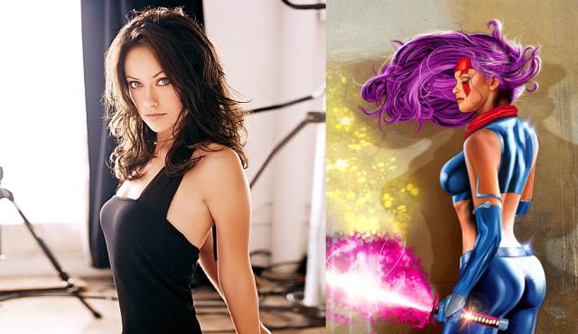 Olivia Wilde Psylocke